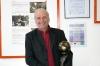 Herr Sepp Eisenriegler mit einer seiner Auszeichnungen
